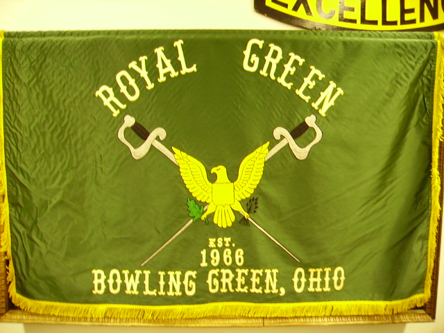 royal green flag