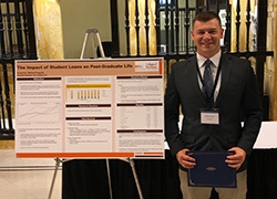Business Student Wins 1st place in Federal Reserve Bank of Cleveland Research Poster Competition