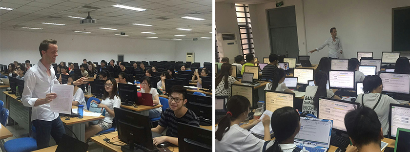 Business Faculty Take Teaching Expertise to Chinese Classrooms