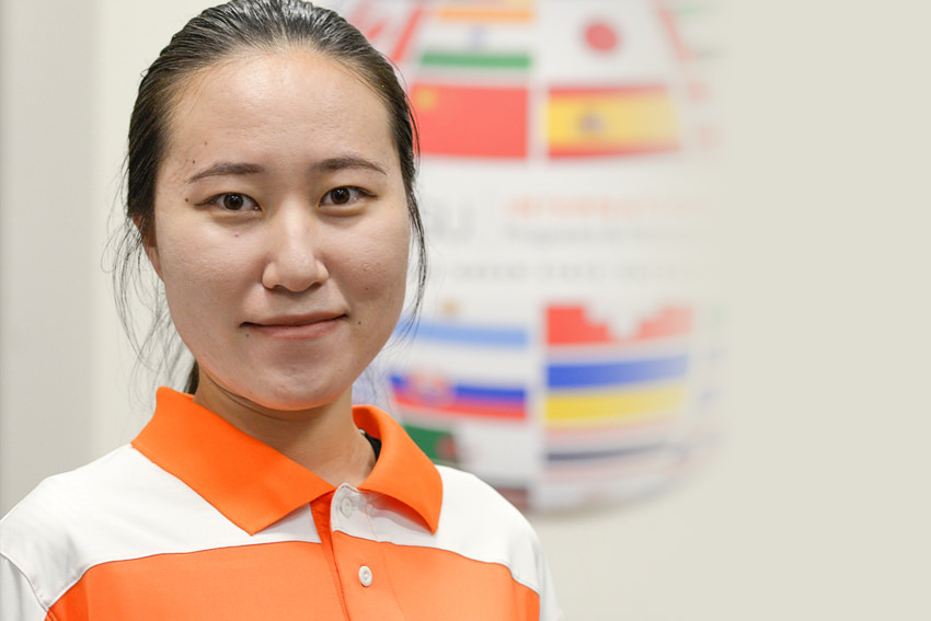 From China to graduating from BGSU - inspiring story about Going Beyond Business As Usual