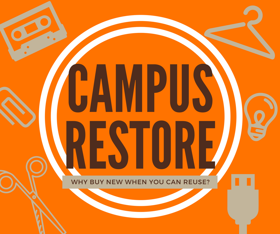 ReStore - Oct. 25th - 11:00am to 1:00pm - Kreischer Late Night