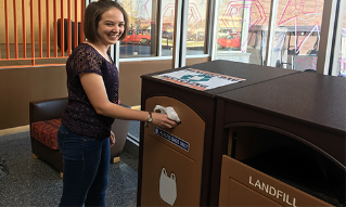 Plastic Bag Recycling Stations (Approved $1,400)