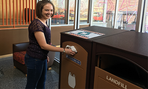 Plastic Bag Recycling Stations
