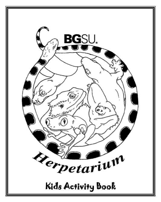 Herp Lab Activity Book