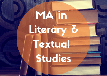 MA in Literary & Textual Studies