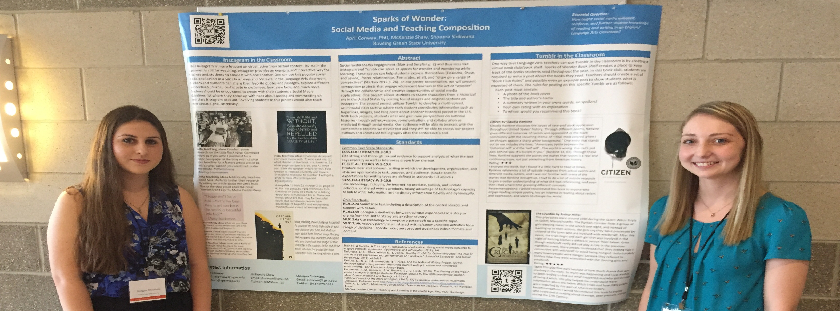 Dr. April Conway and Students Present at Computers and Writing Conference