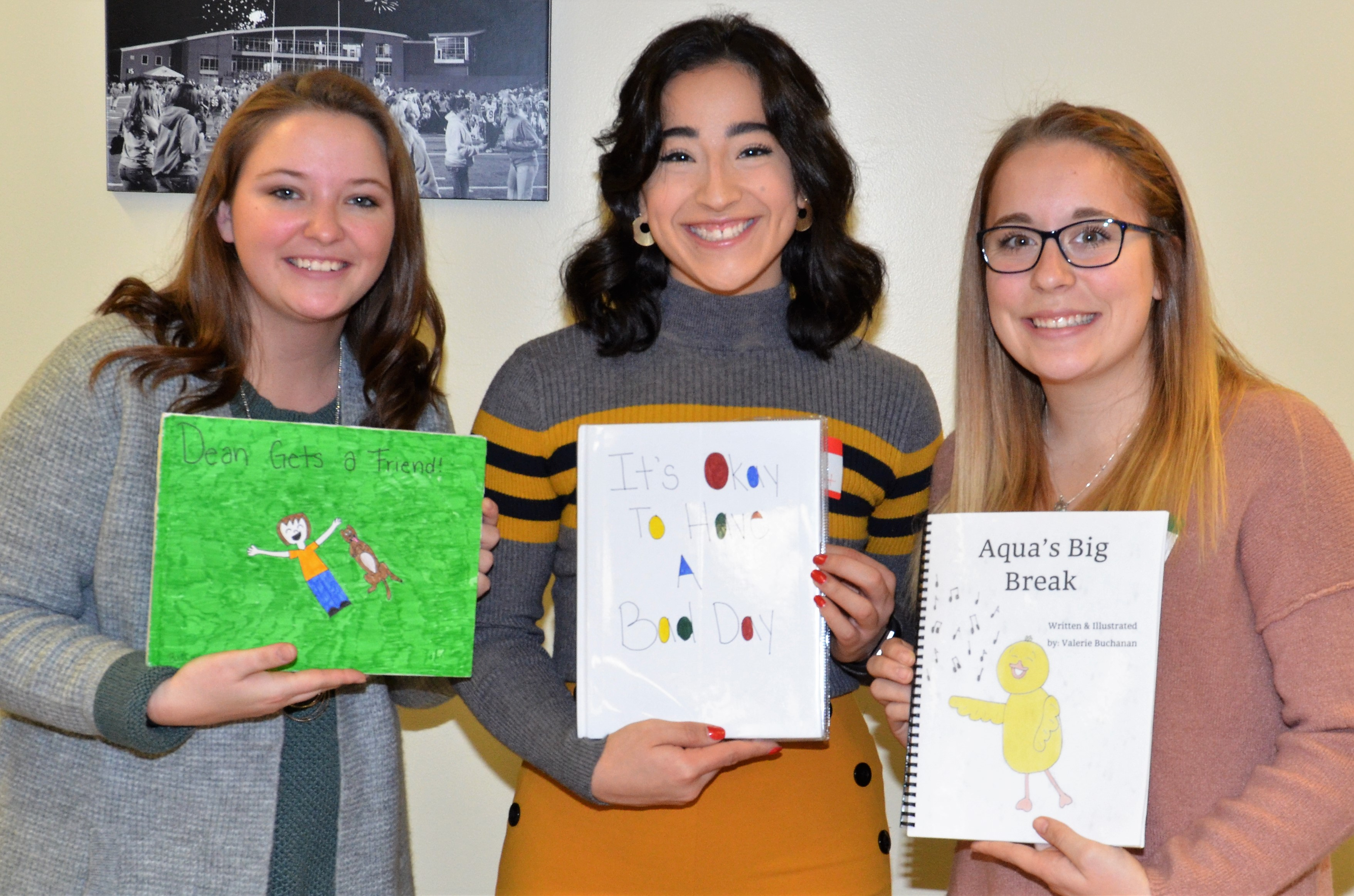 Students Host Picture Book Showcase