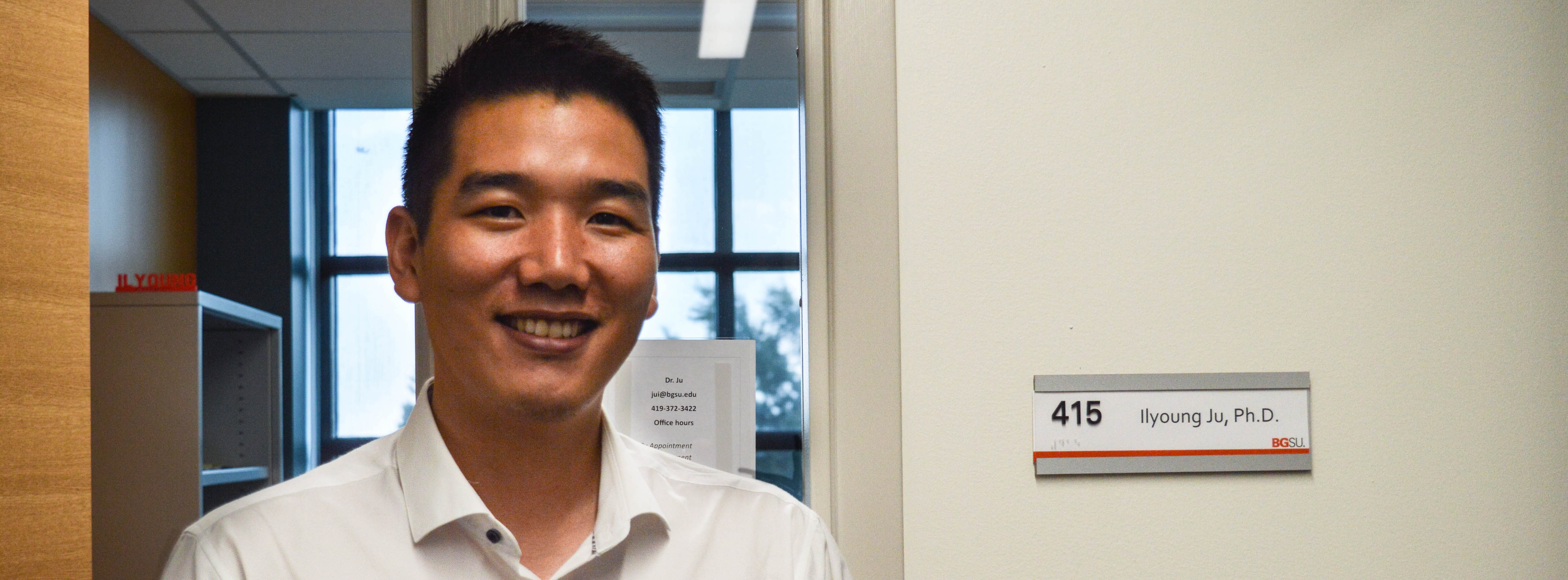 Faculty Focus: New to BGSU Dr. Ilyoung Ju