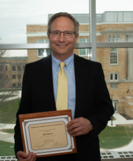 BGSU Director of Student Media Bob Bortel was inducted into the KTA Journalism Hall of Fame.