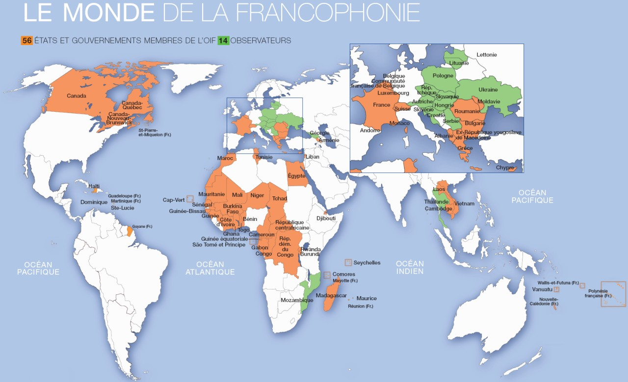 Alumni Careers - Where is france on the map