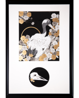 Eulogy: Endagerment (Red-Crowned Crane)