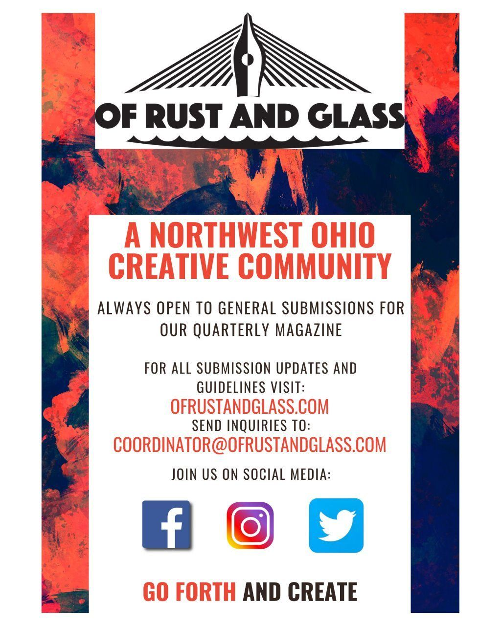 Of rust and glass flyer