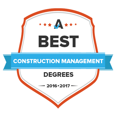 logo of A Best Construction Management degree 2016-2017