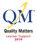 Quality Matters Online Learner Support logo