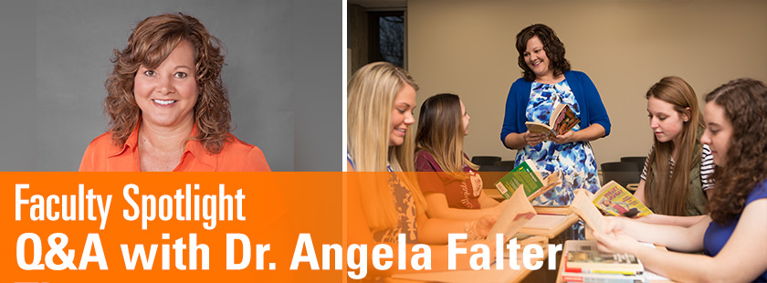 Q&A with Dr. Angela Falter Thomas