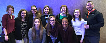 Sports medicine students attend, compete at regional meeting