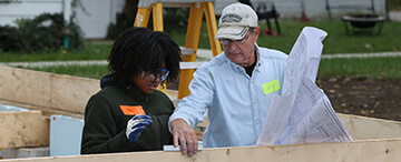 Students build Habitat for Humanity house