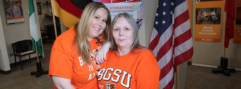 International alumna inspired by daughter to attend BGSU