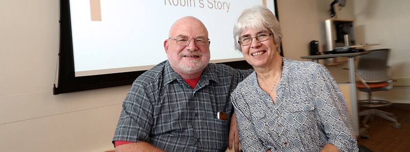 Dr. Michael and Robin French give back to BGSU's Speech and Hearing Clinic