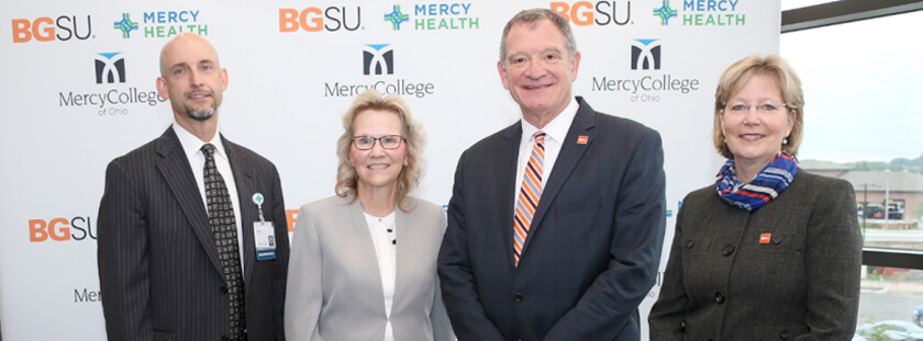 BGSU, Mercy Health announce partnership to grow health care education