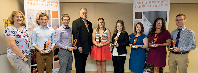 Virginia Dubasik and HHS students honored for undergraduate research
