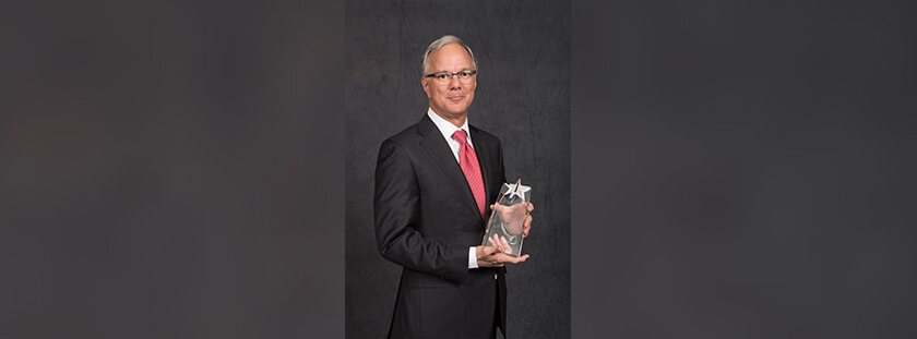 Kevin Webb '79, '82 recognized with College Alumni Award