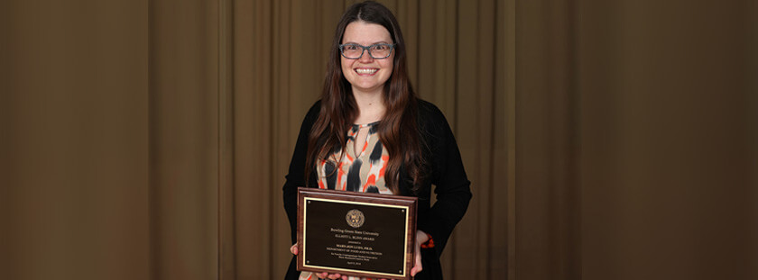 Ludy's work with undergraduate researchers honored