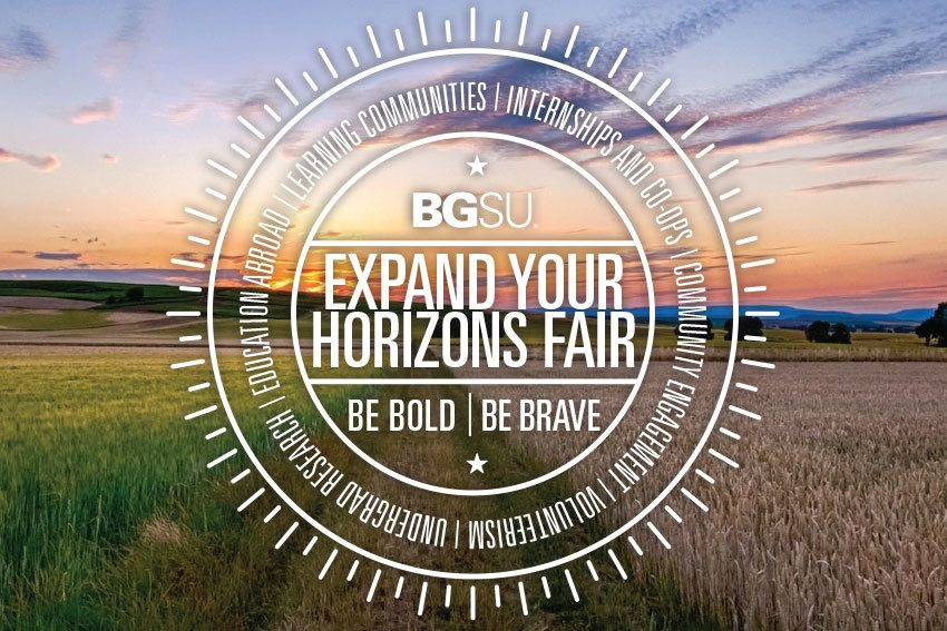 Expand your horizons fair Wednesday, September 18 - Be Bold Be Brave