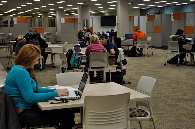 Learning Commons Study Area