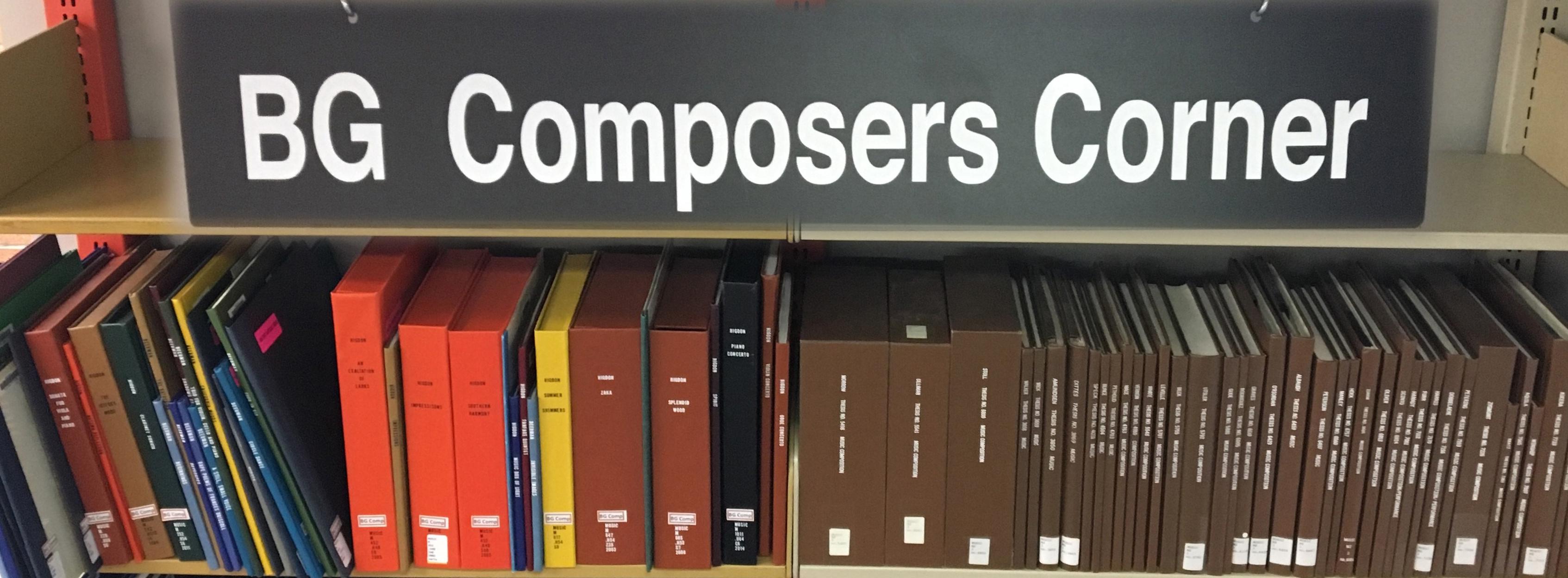 Music Library & Bill Schurk Sound Archives