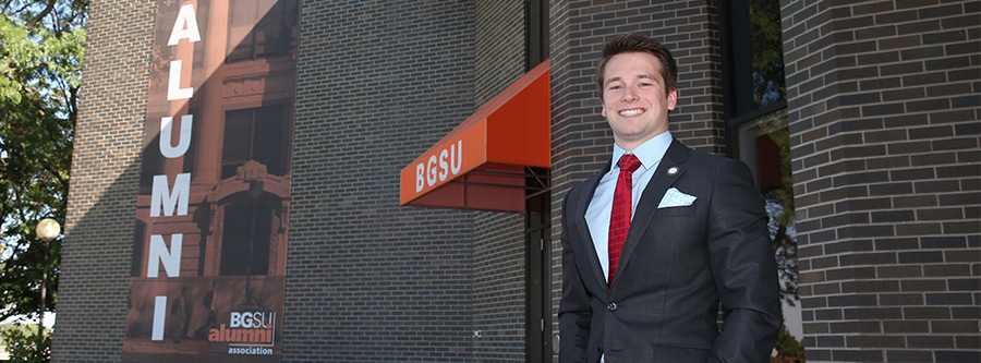 The Business Analytics and Intelligence program at BGSU is gaining worldwide recognition and graduate Trevor Bischoff is a testament to the program