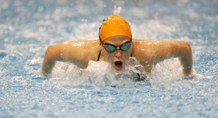 With Olympic Trials scheduled for 2016, the BGSU swimming and diving program swam in a long-course, dual meet at Akron. The meet was designed to give swimmers an opportunity to qualify for USA Olympic Trials.