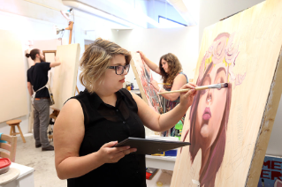 For over 75 years, the School of Art at Bowling Green State University has provided a nurturing environment, encouraging students to express their creative voice in a school where art is innovative, vibrant, and full of possibilities.