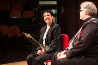 Pulitzer Prize-winning composer Jennifer Higdon '86, '14 (Hon.) was featured in the 2015 New Music Festival.