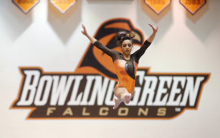 The BGSU Falcons  gymnastics team reached new heights in 2015.