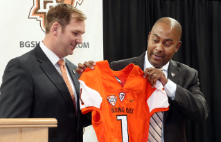 Bowling Green State University introduced Mike Jinks as its new head football coach on Thursday, Dec. 10.