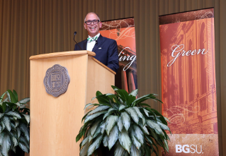 "Jim Obergefell became the ""accidental"" activist and the face of marriage equality in America. Obergefell, who attended BGSU returned to campus in October to share his story."