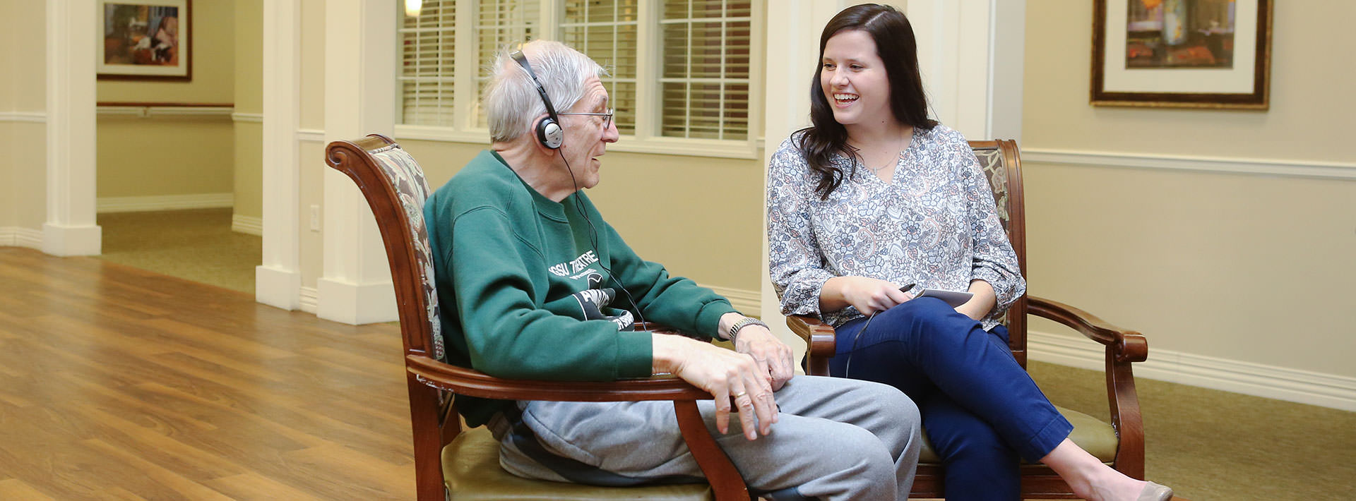 Personal story vital to success in gerontology