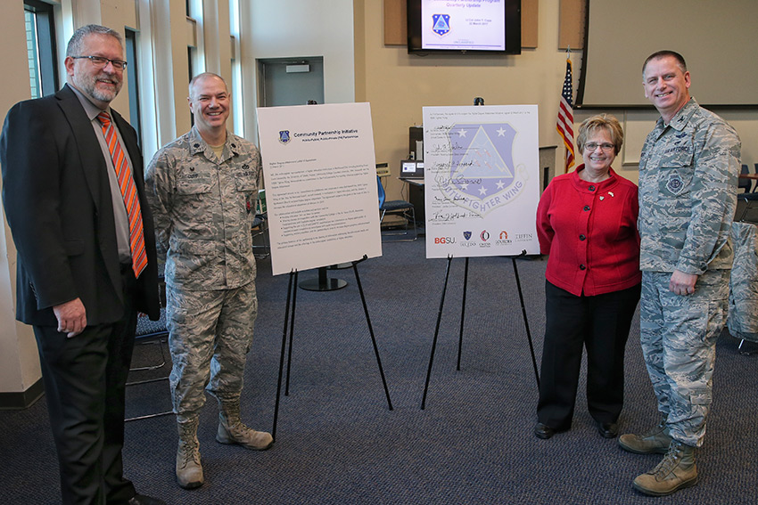 Northwest Ohio colleges, 180th Fighter Wing support higher degree attainment