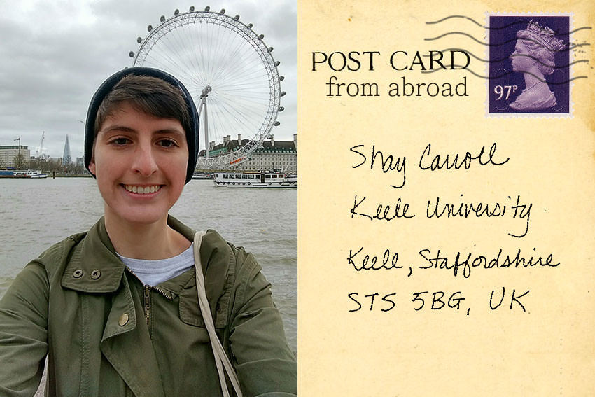 Carroll Postcard from Abroad