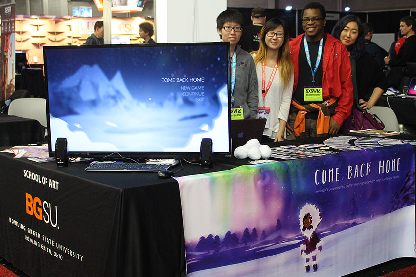 BGSU gaming team competes at SXSW conference