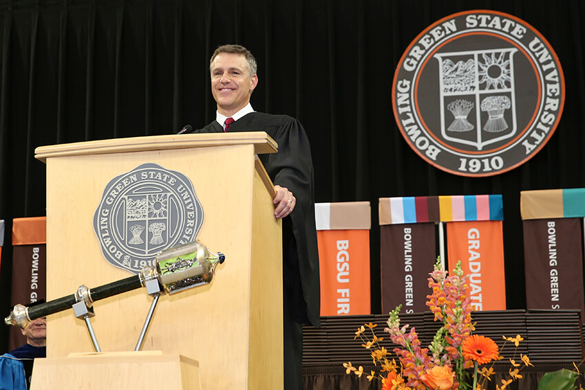 Crawford to join BGSU as executive in residence