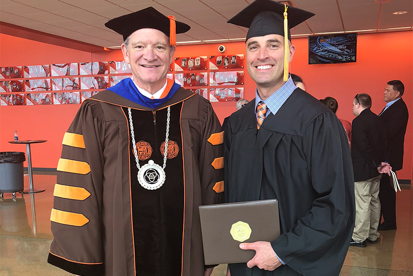 Completing BGSU's eCampus program a long time coming for Alaska native