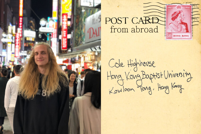Postcards from Abroad: Cole Highhouse
