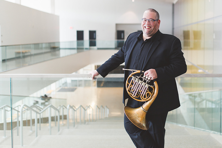 Pelletier shares musical, professional passion as president of International Horn Society