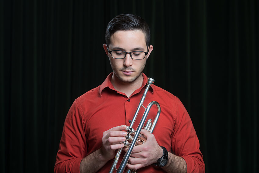 Enrico Solito credits BGSU for his development as a musician