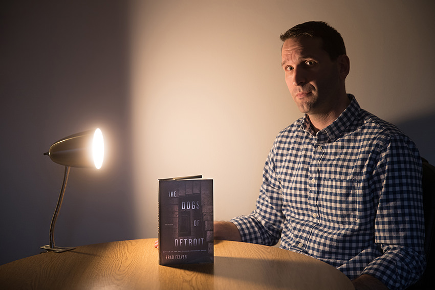 Combination of grief, violence pays off in Brad Felver's first book