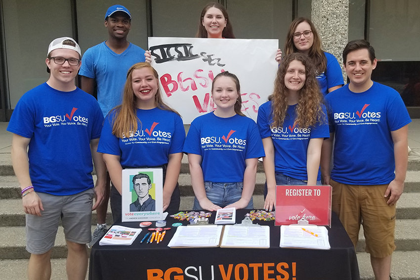 National vote project names BGSU a 'Voter Friendly Campus'