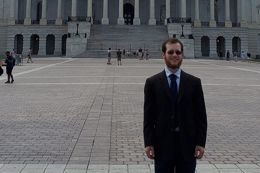 Music, PPEL major gained high-profile exposure as intern in U.S. Senate