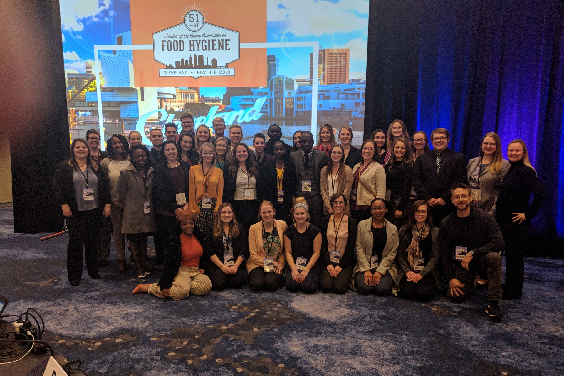 BGSU students attend UN Food and Agriculture Organization Conference